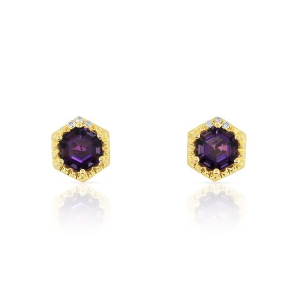 AMETHYST EARRINGS Erickson Jewelers Iron Mountain, MI