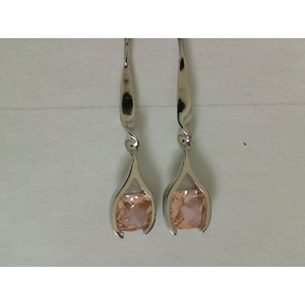 STERLING SILVER SUNSET QUARTZ EARRINGS Erickson Jewelers Iron Mountain, MI