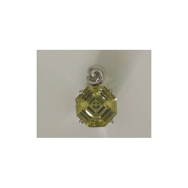 STERLING SILVER LEMON QUARTZ PENDANT Erickson Jewelers Iron Mountain, MI