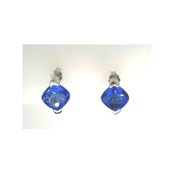 FRANK REUBEL KASHMIRE BLUE TOPAZ EARRINGS Erickson Jewelers Iron Mountain, MI