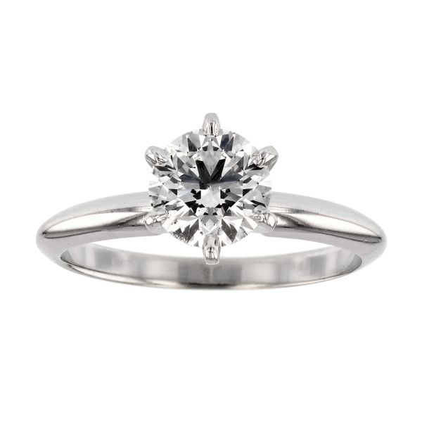 One Carat Solitaire Diamond Ring Fox Fine Jewelry Ventura, CA