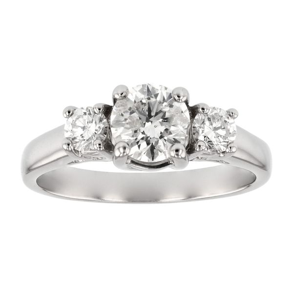 Classic 3 Stone Diamond Engagement Ring Fox Fine Jewelry Ventura, CA