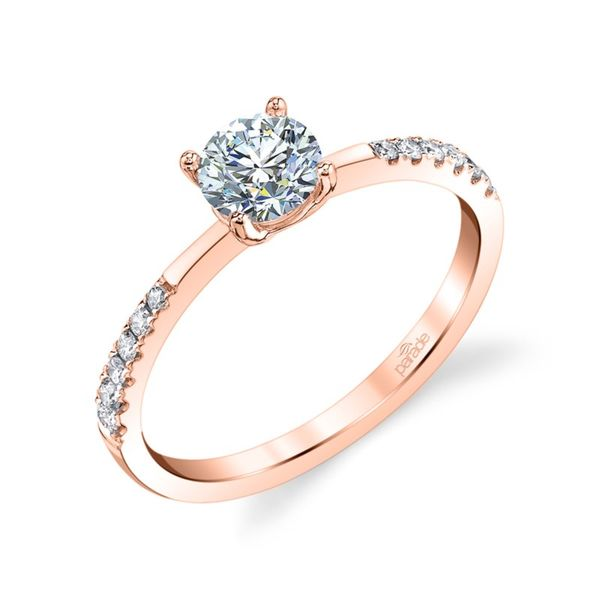 Spaced Side Diamond Engagement Ring Fox Fine Jewelry Ventura, CA