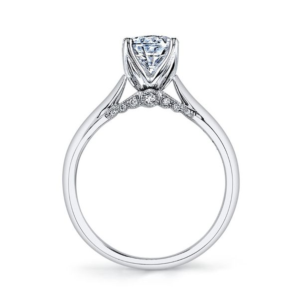 Surprise Diamond Solitaire Engagement Ring Image 2 Fox Fine Jewelry Ventura, CA