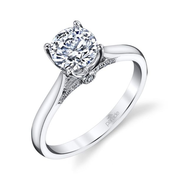 Surprise Diamond Solitaire Engagement Ring Fox Fine Jewelry Ventura, CA