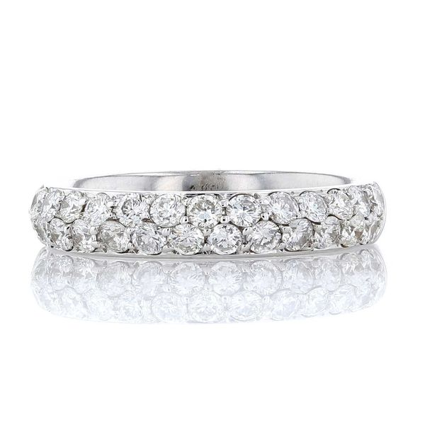 Two Row Diamond Pave Band Fox Fine Jewelry Ventura, CA