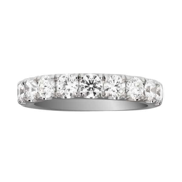 White Gold Diamond Wedding Band Fox Fine Jewelry Ventura, CA