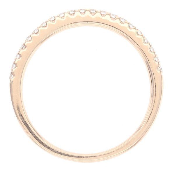 Rose Gold Diamond Wedding Band Image 4 Fox Fine Jewelry Ventura, CA