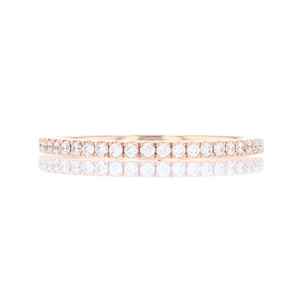 Rose Gold Diamond Wedding Band Fox Fine Jewelry Ventura, CA
