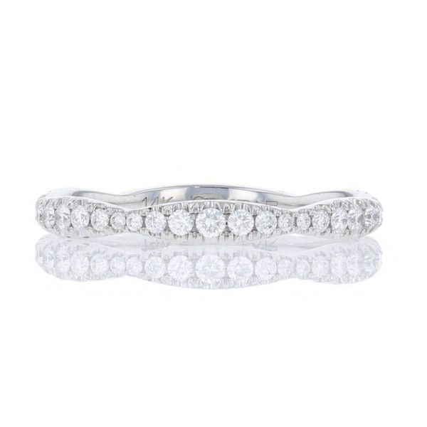 Diamond Scalloped Wedding Band Fox Fine Jewelry Ventura, CA