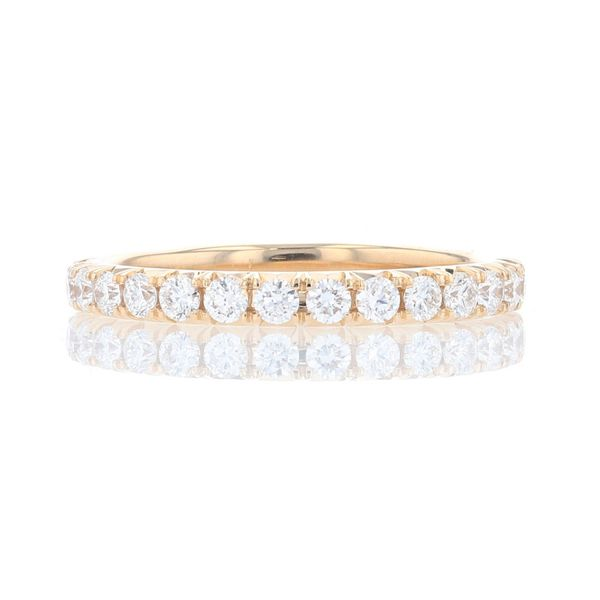 Yellow Gold Diamond Wedding Band Fox Fine Jewelry Ventura, CA