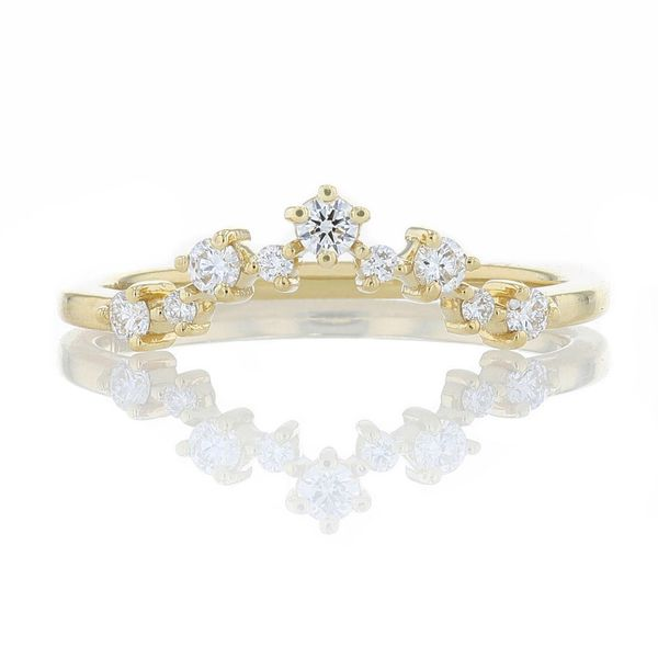 Diamond Constellation Yellow Contour Band Fox Fine Jewelry Ventura, CA