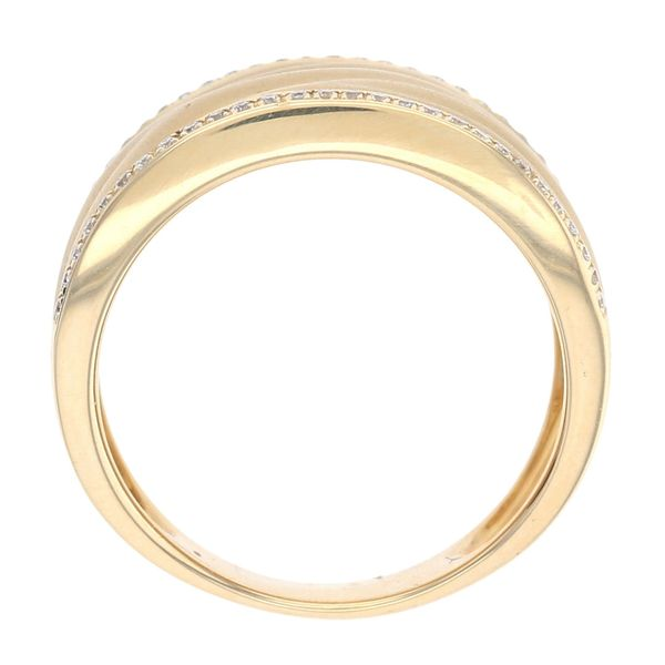 Diamond Satin Finish Fashion Ring Image 3 Fox Fine Jewelry Ventura, CA