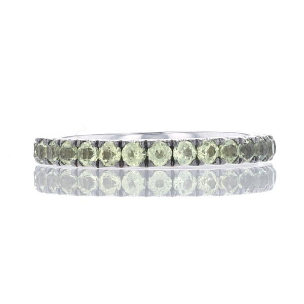 White Gold Peridot Band Fox Fine Jewelry Ventura, CA