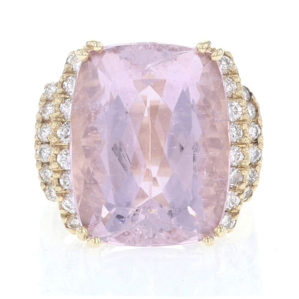 Statement Kunzite & Diamond Ring Fox Fine Jewelry Ventura, CA