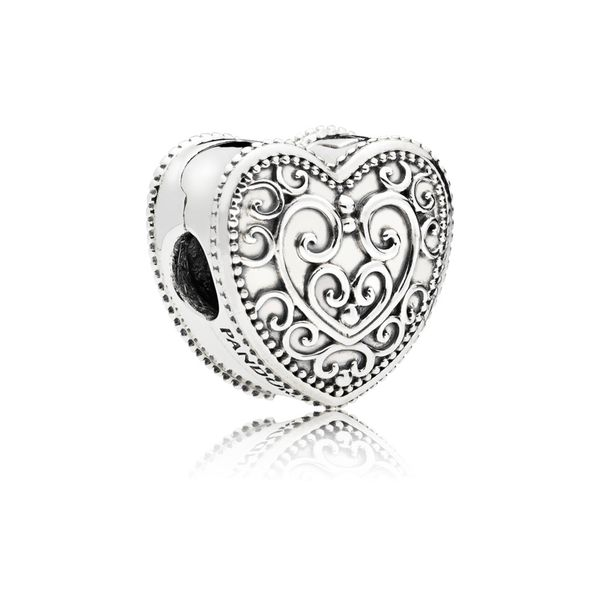 Pandora Enchanted Heart Clip Fox Fine Jewelry Ventura, CA
