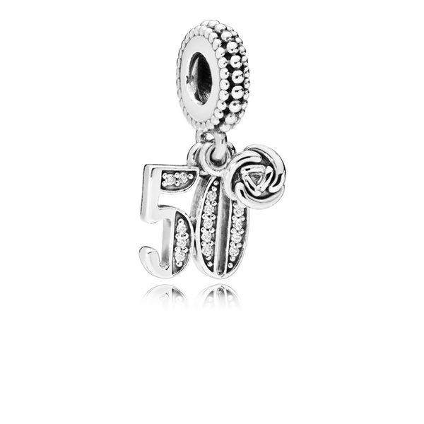 Pandora 50th Celebration Dangle Charm Fox Fine Jewelry Ventura, CA