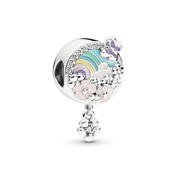 Pandora Rainbow and Flower Dangle Charm Fox Fine Jewelry Ventura, CA
