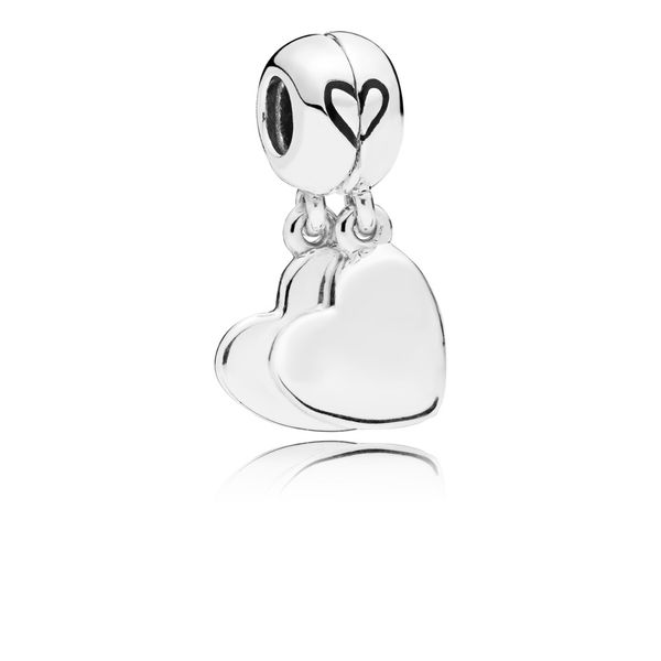 Pandora Mother & Son Heart Split Dangle Charm Fox Fine Jewelry Ventura, CA
