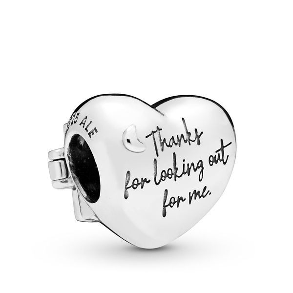 Pandora Thanks Mom Window Heart Charm Image 2 Fox Fine Jewelry Ventura, CA