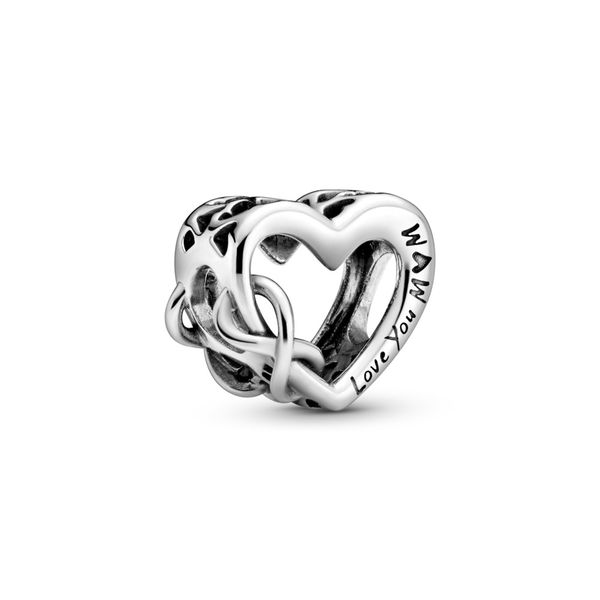 Pandora Love You Mom Infinity Heart Charm Fox Fine Jewelry Ventura, CA