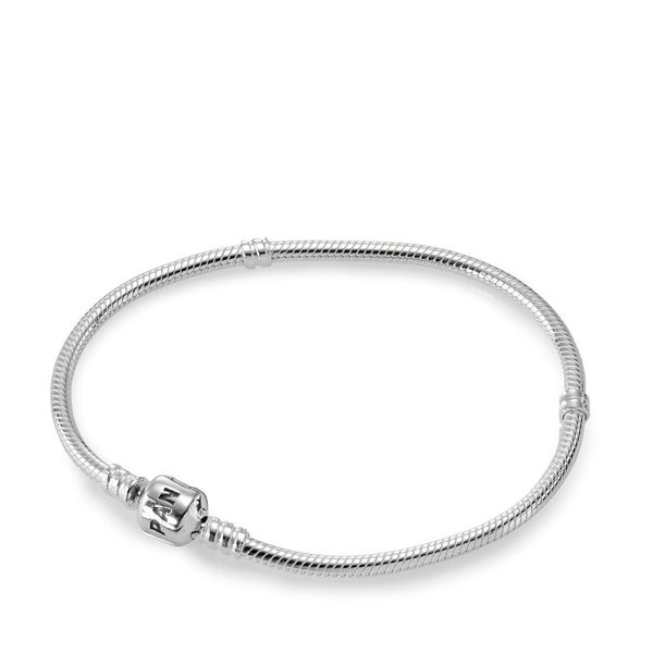 Pandora Moments Snake Chain Bracelet Size 7.5