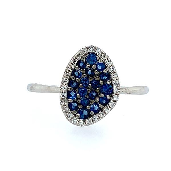 Sapphire and Diamond Ring Franzetti Jewelers Austin, TX