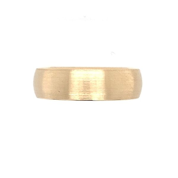 14KY Gold 6 MM Half Round Comfort Fit Light Band Franzetti Jewelers Austin, TX