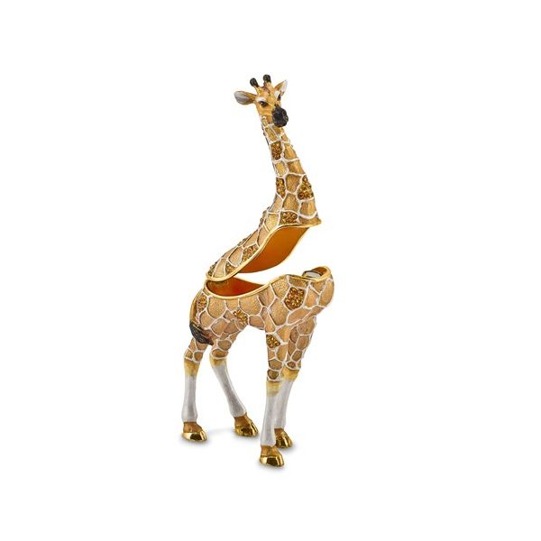 Bejeweled GUSTAV Formal Attire Giraffe Trinket Box Image 2 Franzetti Jewelers Austin, TX