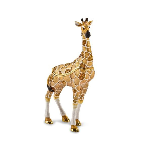 Bejeweled GUSTAV Formal Attire Giraffe Trinket Box Franzetti Jewelers Austin, TX