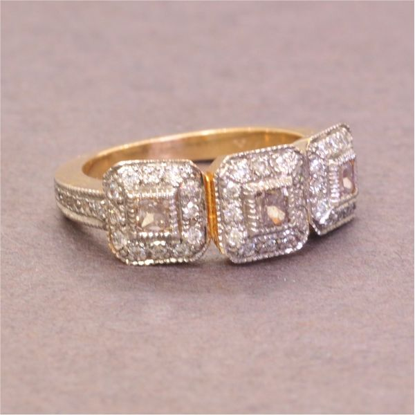 Diamond Ring French Designer Jeweler Scottsdale, AZ