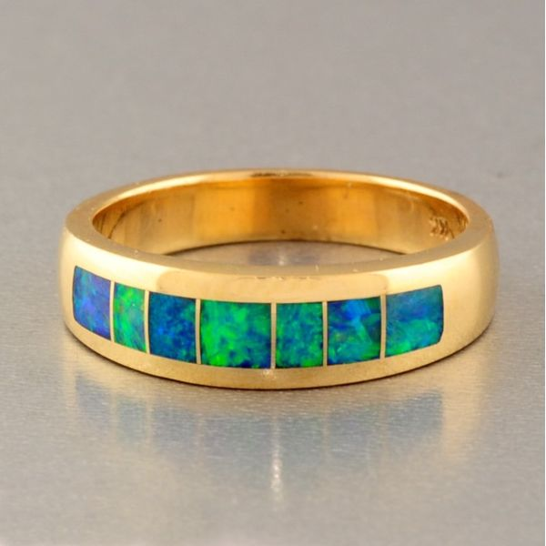 Colored Stone Ring Image 2 French Designer Jeweler Scottsdale, AZ
