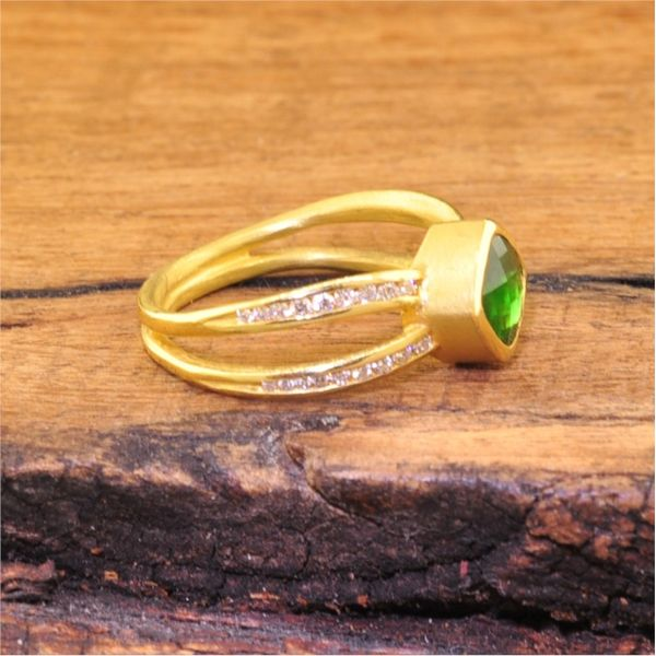 Colored Stone Ring Image 2  ,