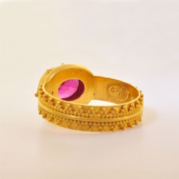 Colored Stone Ring Image 3  ,