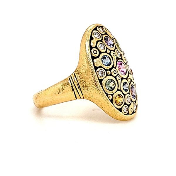 Colored Stone Ring Image 4 French Designer Jeweler Scottsdale, AZ