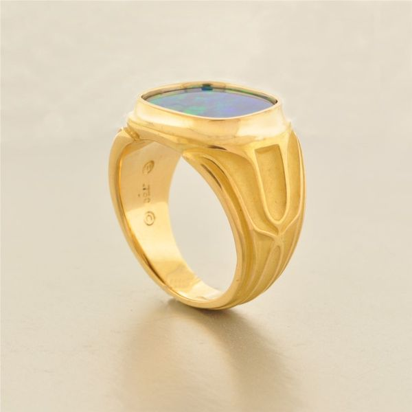 Colored Stone Ring Image 3 French Designer Jeweler Scottsdale, AZ