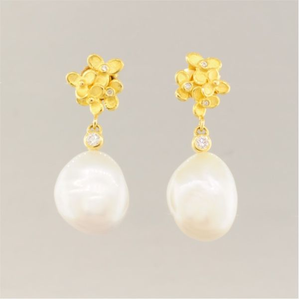 Pearl Earrings French Designer Jeweler Scottsdale, AZ