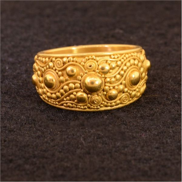 Gold Ring French Designer Jeweler Scottsdale, AZ
