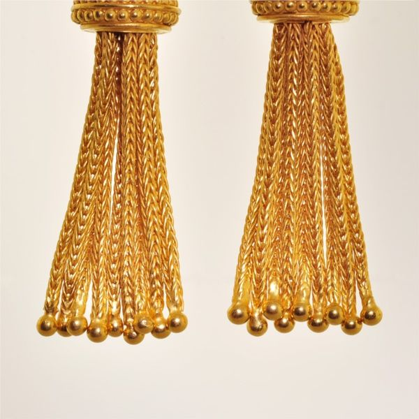 Gold Earrings Image 2 French Designer Jeweler Scottsdale, AZ
