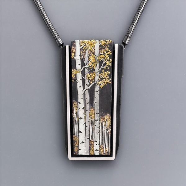 Oxi Silver and Gold Pendants French Designer Jeweler Scottsdale, AZ