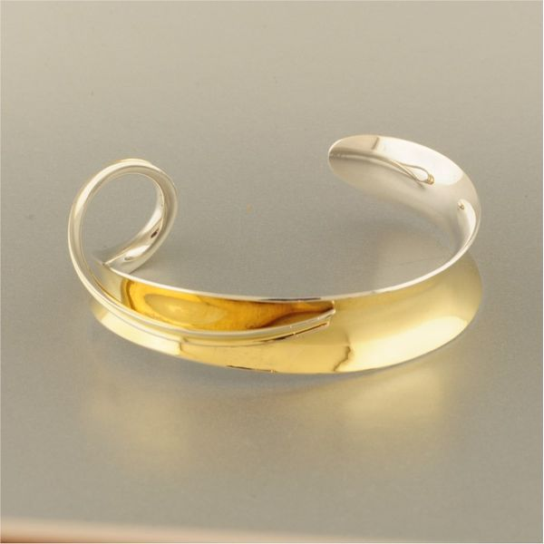 Silver and Gold Bracelet French Designer Jeweler Scottsdale, AZ