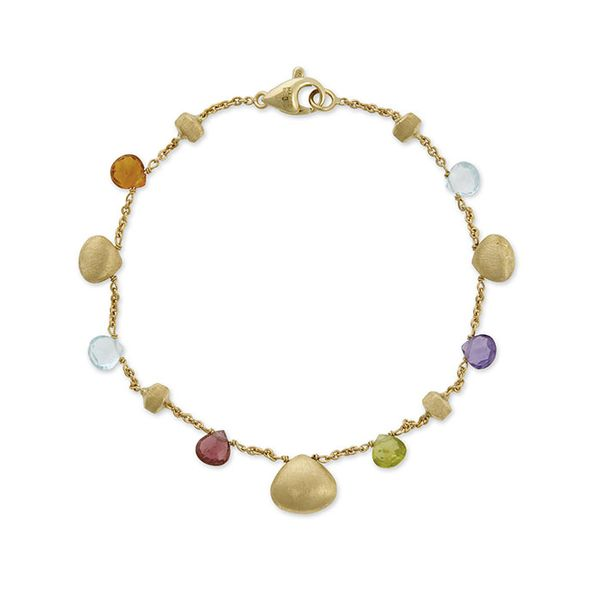 Marco Bicego® 18K Mixed Stone and Gold Teardrop Bracelet George Press Jewelers Livingston, NJ