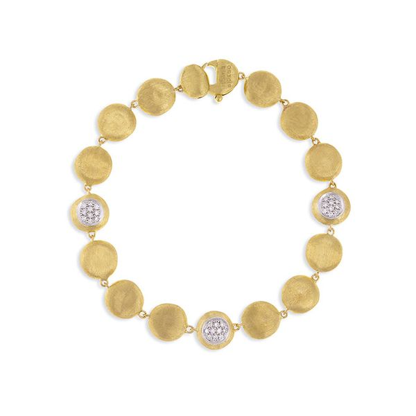 Marco Bicego® 18K Yellow Gold and Diamond Bracelet George Press Jewelers Livingston, NJ