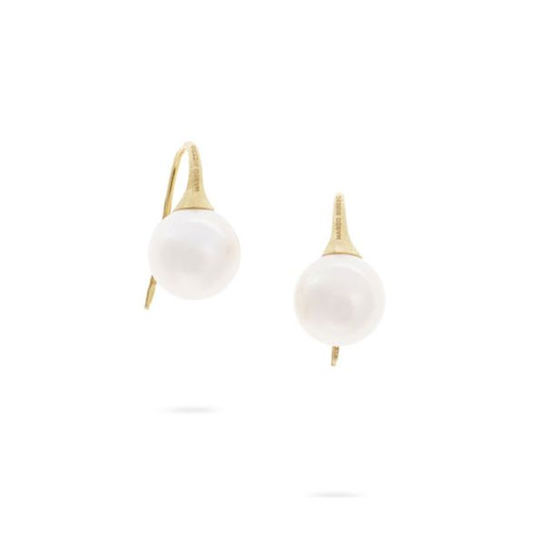 Marco Bicego® Africa 18k Pearl Drop Earrings George Press Jewelers Livingston, NJ