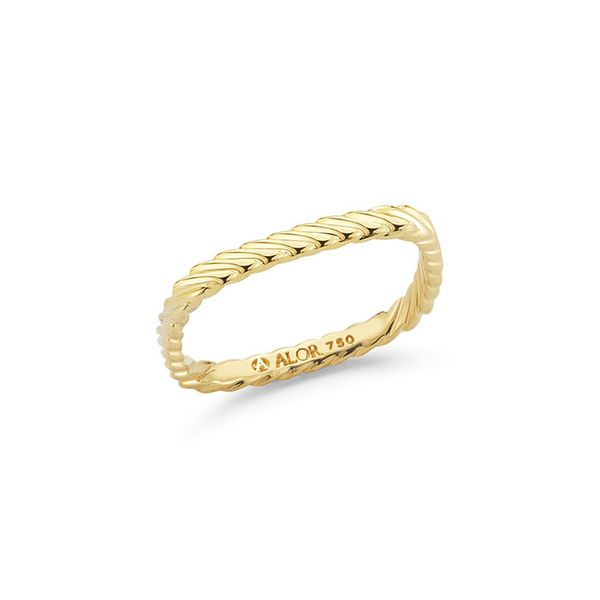 ALOR 18K Yellow Gold Ring George Press Jewelers Livingston, NJ