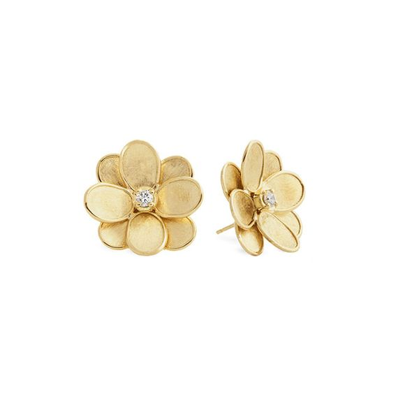 Marco Bicego® Petali Collection Flower Stud Earrings George Press Jewelers Livingston, NJ