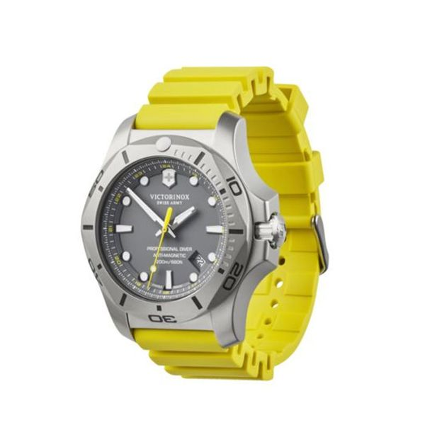 Swiss Army I.N.O.X. Yellow Professional Diver Image 2 George Press Jewelers Livingston, NJ