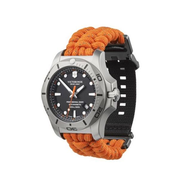 Swiss Army I.N.O.X. Orange Professional Diver Image 2 George Press Jewelers Livingston, NJ