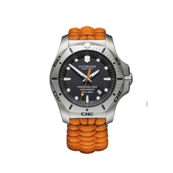 Swiss Army I.N.O.X. Orange Professional Diver George Press Jewelers Livingston, NJ