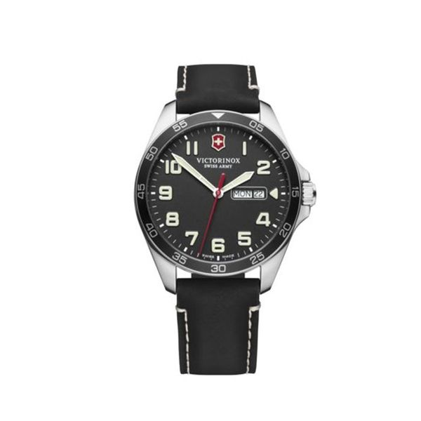 Swiss Army Black Fieldforce George Press Jewelers Livingston, NJ
